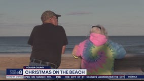Christmas at the beach: Cold front keeps crowds away