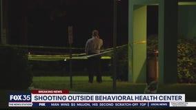 Police investigate shooting outside behavioral health center