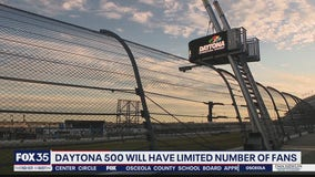 Daytona 500 will have limited fans