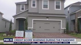 Credit score warning during coronavirus pandemic