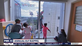 Annual Elf Rappel in Orlando