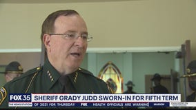 Sheriff Judd sworn-in for fifth term