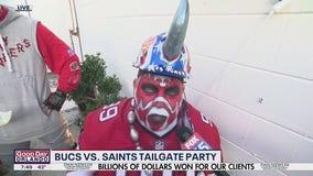 Buc vs. Saints tailgate party