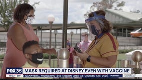 Mask required at Disney even with vaccine