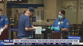 International travelers must soon show proof of negative COVID test