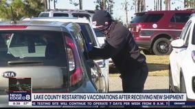 Lake County resume coronavirus vaccinations