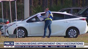 Deltona begins appointment-only vaccinations