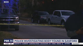 Police investigate after body found in Sanford