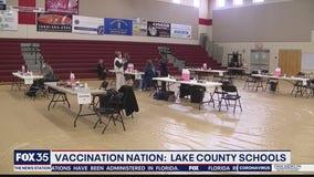 Lake County begins vaccinating school staff