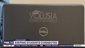 Volusia County keeping students connected with laptops