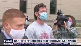 Florida firefighter arrested for alleged involvement in Capitol riot