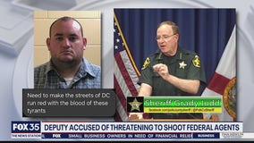 PCSO: Deputy arrested for threats of Capitol violence
