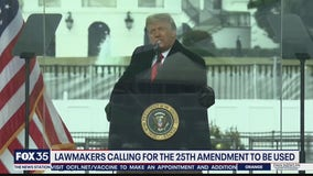 Lawmakers calling for 25th Amendment to be used