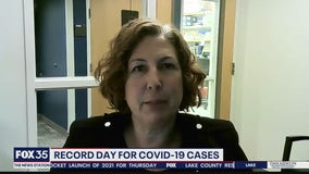 Record day for new coronavirus cases in Florida