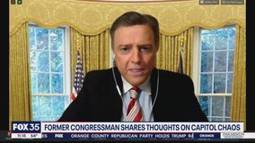 Former congressman shares thoughts on chaos at Capitol Hill
