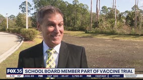 Volusia school board member part of vaccine trial