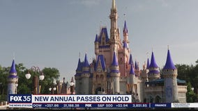 New annual passes on hold at Disney