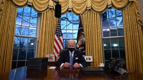 Oval Office decor gets makeover for new Biden administration