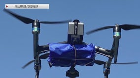 Companies look to use drones to deliver at-home COVID-19 tests