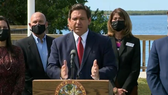'Get us more vaccines': Gov. DeSantis calls on federal government to send more doses