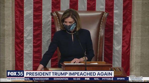 President Trump impeached again