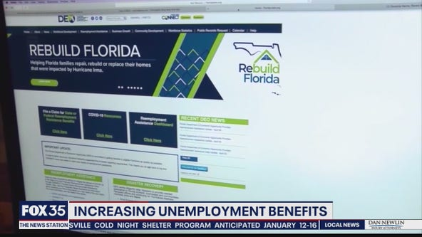 Bill would increase unemployment benefits for Floridians