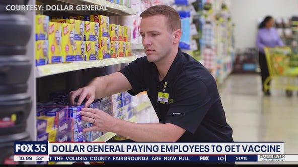 Dollar General offering to pay employees to get vaccine