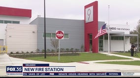 Orlando Fire Department opens news station in Rosemont