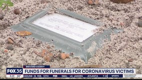 Brevard County funds help some families bury COVID victims