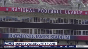 Super Bowl security plans in place