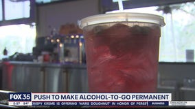 Push to make alcohol-to-go permanent in Florida