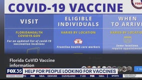 Help for people looking for vaccines