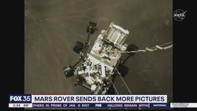 Mars rover sends back more pictures
