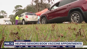Osceola County seniors getting help with vaccination registration