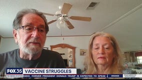 Marion County man struggling to secure vaccine