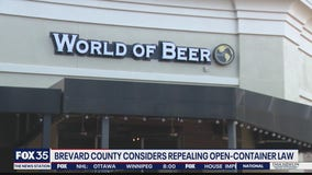 Brevard County considers repealing open-container law
