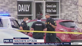 Police say machete-wielding man shot