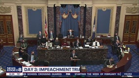 Day 3 of Trump impeachment trial