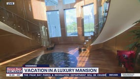 Vacation in a luxury mansion
