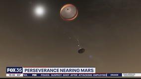Perseverance nearing Mars