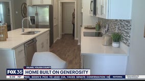 Home built on generosity