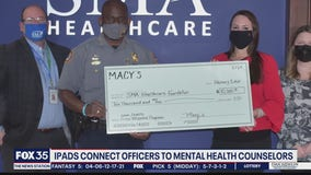 Technology to connect officers to counselors