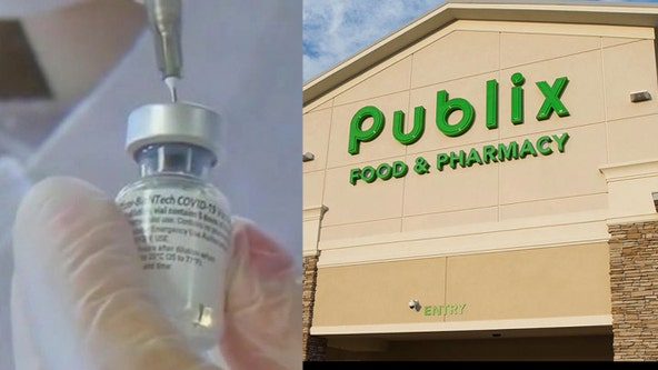Publix now offering walk-in COVID-19 vaccines