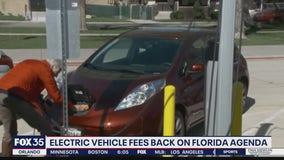 Electric vehicle fees back on legislative agenda