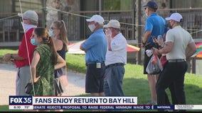 Fans enjoy return to Bay Hill