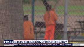 Bill to release some prisoner early
