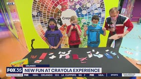 New fun at Crayola Experience
