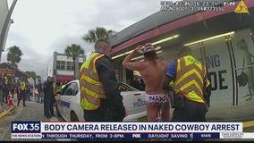 'Naked Cowboy' arrested in Daytona Beach