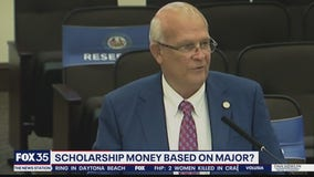 Scholarship money based on major?