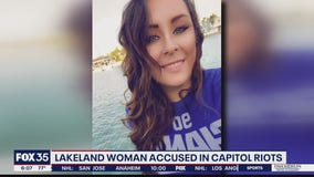 Lakeland woman accused in Capitol Riot